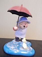 """Vintage Disney Pooh & Friends Figurine - """"We'll Share Forever Whatever Weather"""""""