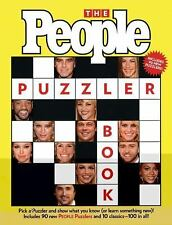 The People Puzzler Book (2007, Paperback) Celebrity Crossword Puzzle NEW