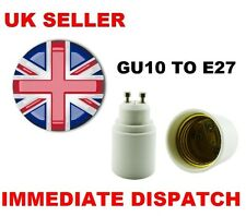 GU10 TO (ES) E27 Bulb Base Lamp Socket Fitting Extender Converter Adaptor Holder