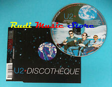 CD Singolo U2 DISCOTHEQUE 1997 UK CIDX 649/854 877-2 (S12) BONO no mc dvd vhs lp