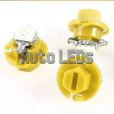 Yellow SMD LED B8.4D Neo Wedge 12v Interior LED Bulb