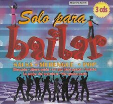 Solo Para Bailar Salsa Merengue Pop 3CD Sealed