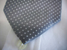 New BROOKS BROTHERS Gray White Dot Silk Neck Tie  ~ NWOT