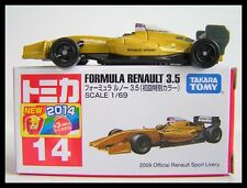 TOMICA #14 FORMULA RENAULT 3.5 1/69 TOMY 2014 AUG NEW MODEL First edition