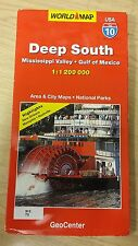 Deep South: Mississippi Valley: Gulf Of Mexico: GeoCenter Map (M17)