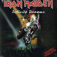 "IRON MAIDEN INFINITE DREAMS VINILE 7"" NUOVO E SIGILLATO"