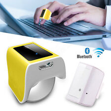 3D Smart Wearable Device Finger Ring Mouse Body Response Bluetooth Touch Mouse