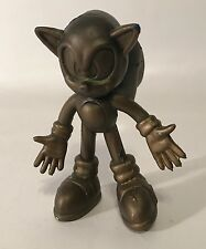 "Sonic X Gold Sonic The Hedgehog 3"" Bendable Figure Sega Video Game TV Show Set"