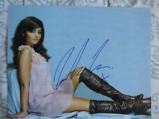 JENNA LOUISE COLEMAN Signed 8x10 photo DC/COA (DOCTOR WHO) DR