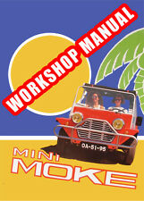 MINI MOKE WORKSHOP MANUAL: 1959-1976