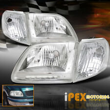 Brightest LED Headlights Set For 1997-2003 Ford F150 SVT Lariat Harley Davidson