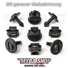 5x SET MOTOR PROTECTION SKID PLATE CLIPS AUDI A4 A6 & VW PASSAT SEAT SKODA