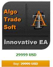 Forex EA AlgoTradeSoft Innovative - about 35% profit / month - Only EUR/USD