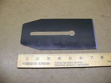 "Old Tools NOS 3 1/2"" Plane Iron/Scraper Blade for Hand Plane 7 5/8"" Long NICE!"