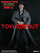"REDMAN TOMBSTONE DOC HOLLIDAY 2 12"" INCH 1/6TH ACTION FIGURE RAINMAN VAL KILMER"