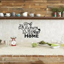 Kitchen Words Quote Wall Stickers Decal Home Decor Vinyl Art Mural DIY Removable