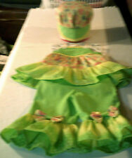 Green Paisley Pageant Wear