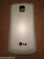 Brand New OEM LG Optimus M U T S P509 P500 Battery Back Door Cover White