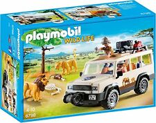 PLAYMOBIL 6798 SAFARI TRUCK WITH LIONS / ANIMALS      BRAND NEW / SEALED