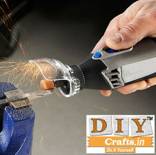 Grinder Cover Case DIY Works Rotary Tool Attachment Accessories For Drill Dremel