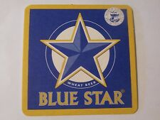 Collectible Coaster ~ NORTH COAST Brewing, Ft. Bragg, CALIFORNIA Blue Star BEER