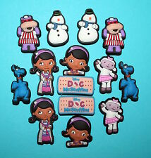 Doc McStuffins Shoe Charms Cake Decorations Cupcake Toppers Loom Bands Party NEW