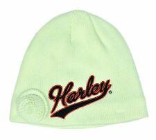 Harley-Davidson Toddler Girl Knit Winter Hat - 2-4T - Kids Clothing - Cap