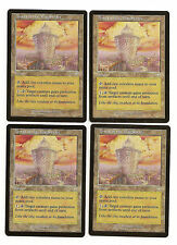 MTG  4X ** TOWER OF THE MAGISTRATE ** X4 Magic Mercadian Masques