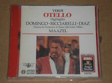 GIUSEPPE VERDI - OTELLO HIGHLIGHTS (DOMINGO, MAAZEL) - CD SIGILLATO (SEALED)