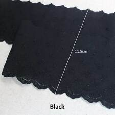 """1Yds Broderie Anglaise Eyelet cotton lace trim 4.3""""(11.5cm)  YH1162 laceking"""