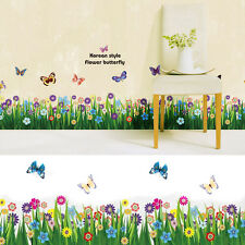DIY Flower Butterfly Decal PVC Decor Art Home Removable Room Mural Wall Sticker