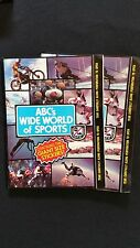 1975 Topps ABC Wide World Of Sports Wax Pack 2 Pack Lot