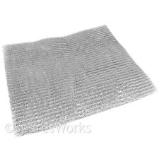 UNIVERSAL Aluminium Cooker Hood Extractor Vent Filter Mesh Washable Cut  to Size