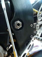 Kawasaki ZX10R 2011-2015 PIVOT BRAS OSCILLANT écrou à bride TITANE M20 X1.5 R2C6