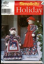 Porch Decorations for Christmas - Polar Bear, Snow Lady -Simplicity Sewing Ptrn