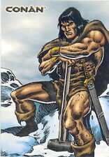 CONAN ART OF THE HYBORIAN AGE 2004 RITTENHOUSE PROMO CARD P1