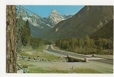 Canada, Rogers Pass B.C. Old Postcard, A812