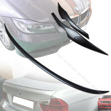 Painted E90 BMW M3 Type 3-Series Trunk Spoiler & E90 Eyebrows Eyelids 05-11 §
