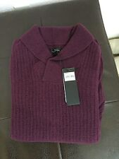 100 cashmere sweater Marc Anthony L plum