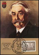 Austria 1983 Carl, Freiherr Von Hasenauer Maximum Card  #C21501