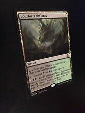MTG MAGIC OGW HISSING QUAGMIRE (FRENCH BOURBIERS SIFFLANTS) NM