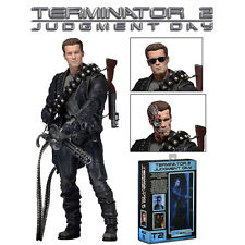 Terminator 2 Judgment Day T-800 PVC Action Figure Display Figurines Boy Toy