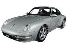 1995 PORSCHE CARRERA 911 993 SILVER METALLIC 1:18 DIECAST MODEL BY AUTOART 78131
