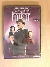DVD SERIES / HERCULE POIROT N°10 / SAISON 3 / 3 EPISODES / 150 MNS / NEUF CELLO