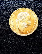 1915 AUSTRIA 1 DUCAT GOLD UNCIRCULATED PROOF COIN .1107 oz