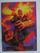 1994 Marvel Masterpieces Gold Foil Signature Trading Card #43 ~ Ghost Rider 2099