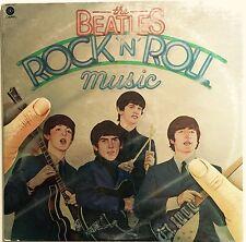 VINTAGE 1976 THE BEATLES - ROCK 'N ROLL MUSIC - CAPITOL RECORDS 11537  DOUBLE LP
