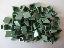 LEGO STAR WARS   60 schräge Fliesen / Dachziegel 54200 sandgrün 1x1x2/3   NEU