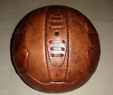 1954 WC Antique Style Genuine Leather Soccer ball, 18 Panels, Size 5
