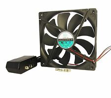 140mm 25mm New Fan 110V 115V 120V AC 74 CFM Cooling Kit Ball Brg Cabinet  1324*